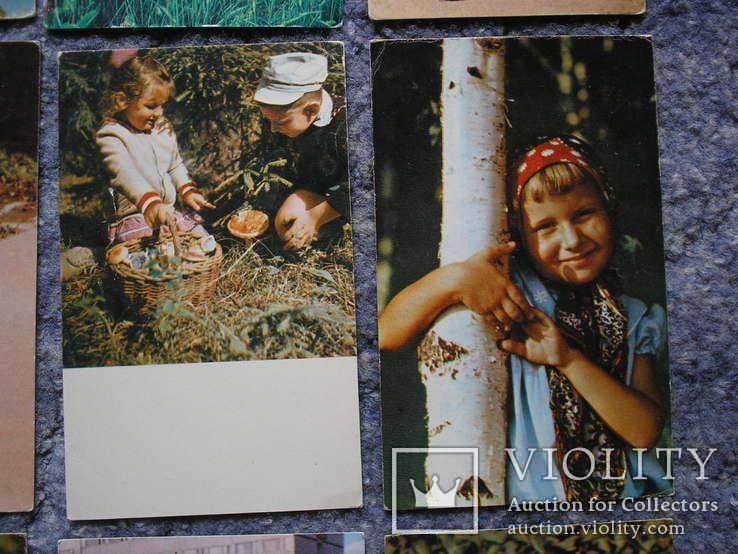 Дети.Счастливое детство.14 открыток., фото №6