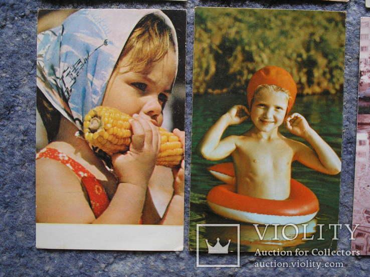 Дети.Счастливое детство.14 открыток., фото №7