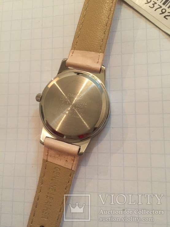 Лот 0048 Новые женские часы Casio (оригинал) LTP-1324L-4ADF DI, фото №4