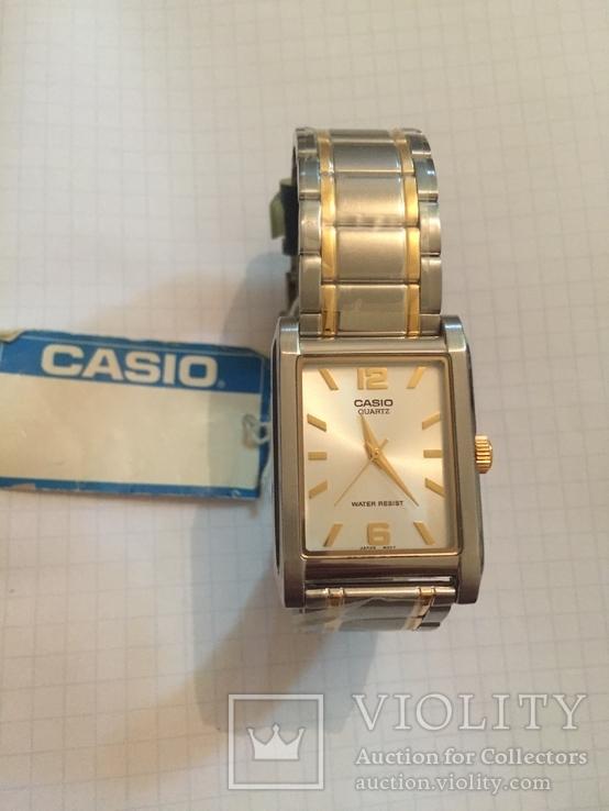 Лот 0039 Новые женские часы Casio (оригинал) MTP-1235SG-7ADF DI