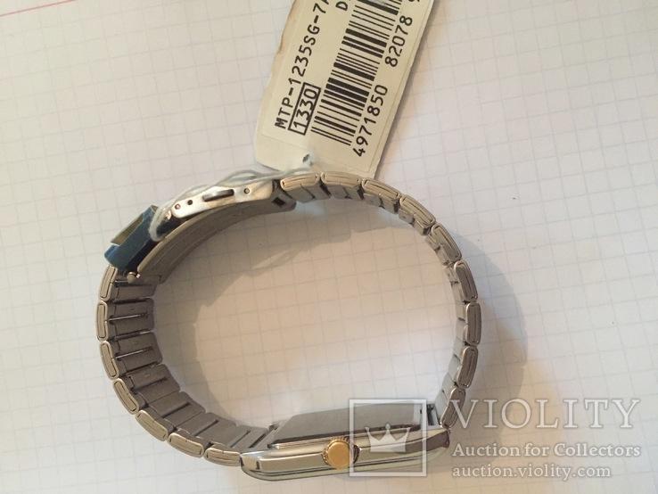 Лот 0039 Новые женские часы Casio (оригинал) MTP-1235SG-7ADF DI, фото №6
