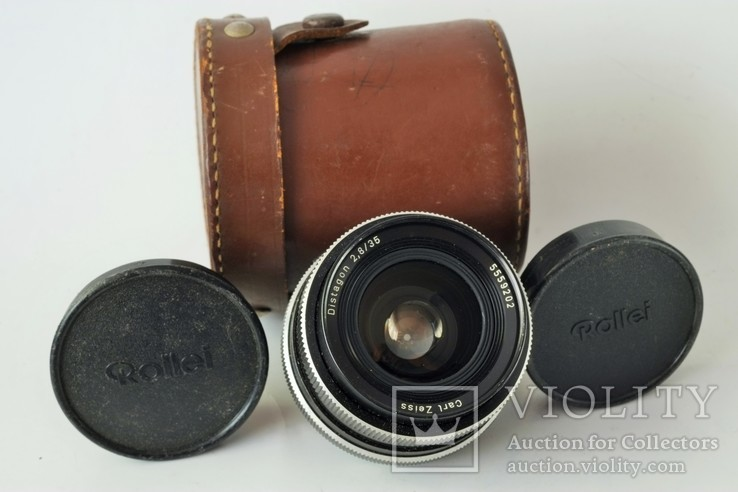 Carl Zeiss Distagon 2.8/35 мм Rollei QBM