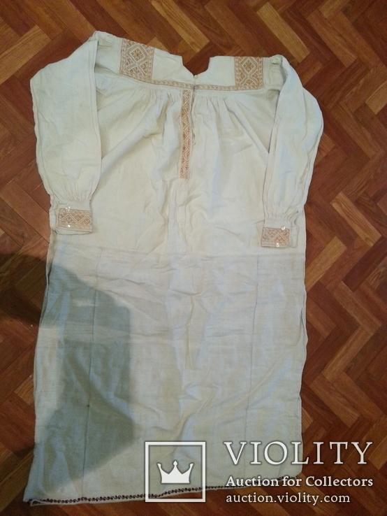 Вышитая сорочка женская, фото №4
