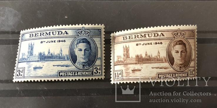 1946. Бермуды. Победа. Личности. MNH