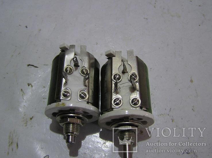 Резисторы ППБ-25 Г13 и ...-25Д ; 2,2 кОм и 220 Ом соответственно., фото №3