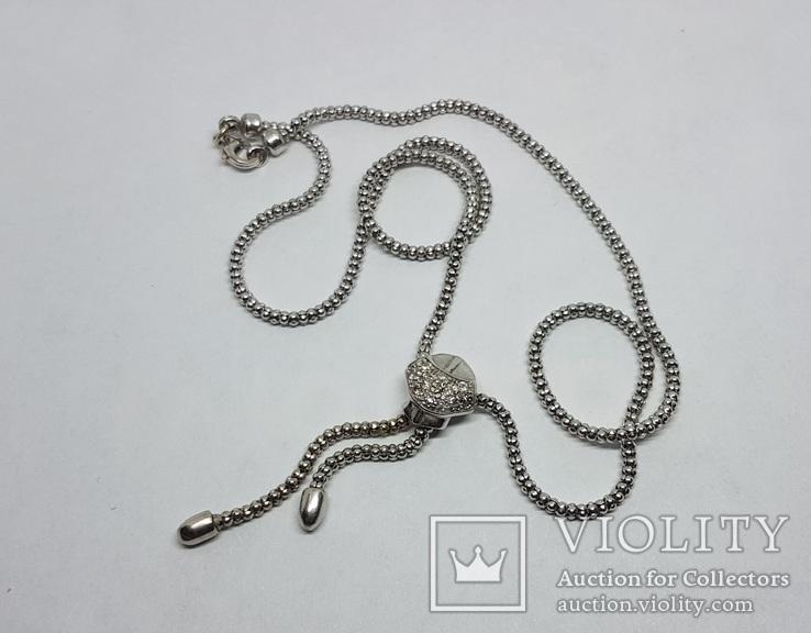 Золотое колье с бриллиантами, фото №4