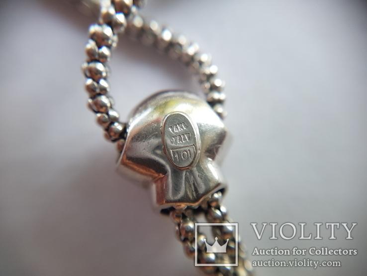 Золотое колье с бриллиантами, фото №10