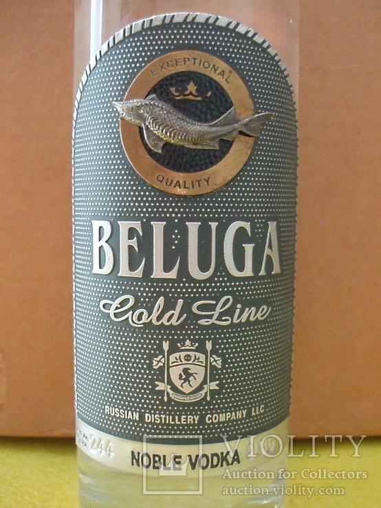 Водка Белуга GOLD LINE, фото №5