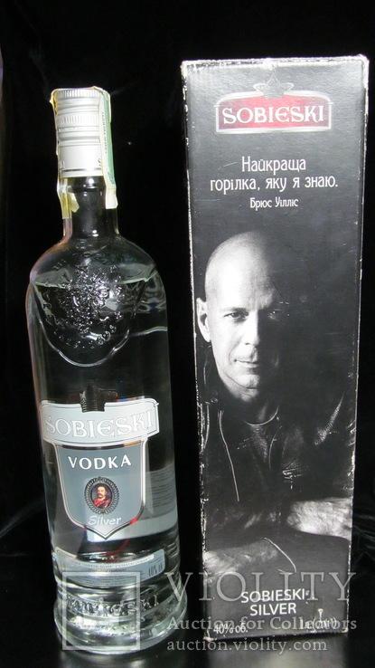 Bruce Willis Vodka  Sobieski