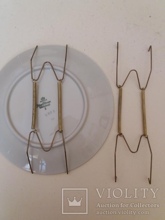 Крепления для настенных тарелок 2шт. 16-34см