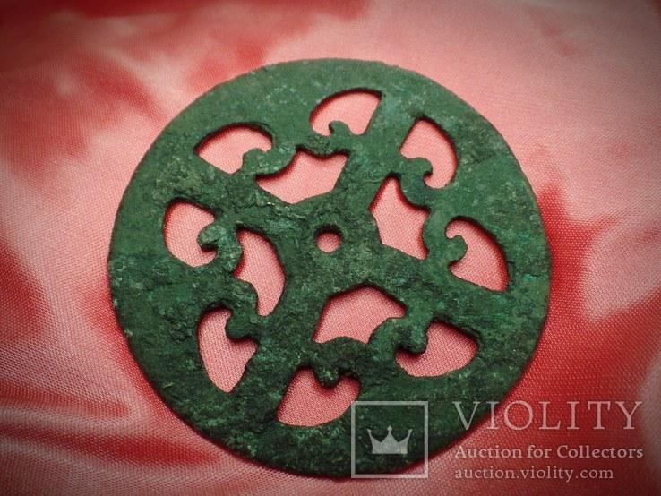 Украшение конской сбруи.Рим 3 век ., фото №3