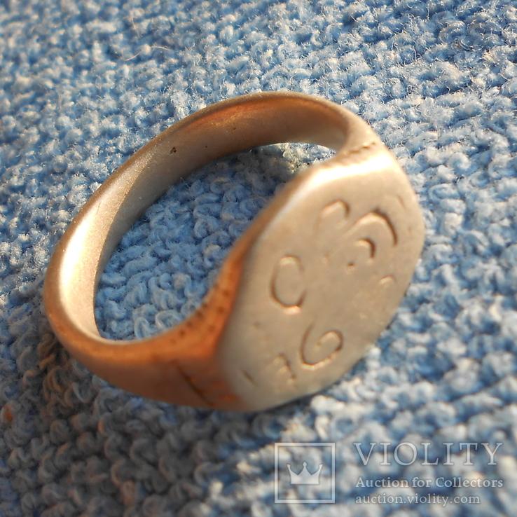 Серебряный казацкий перстень., фото №3