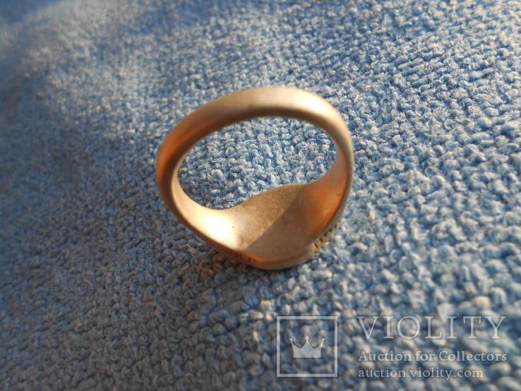 Серебряный казацкий перстень., фото №5