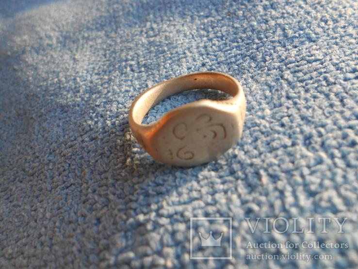 Серебряный казацкий перстень., фото №6