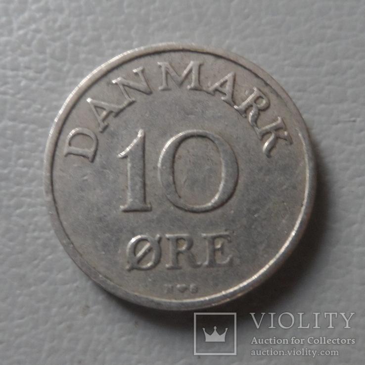 10  эре  1954  Дания   (О.1.24)  ~, фото №3