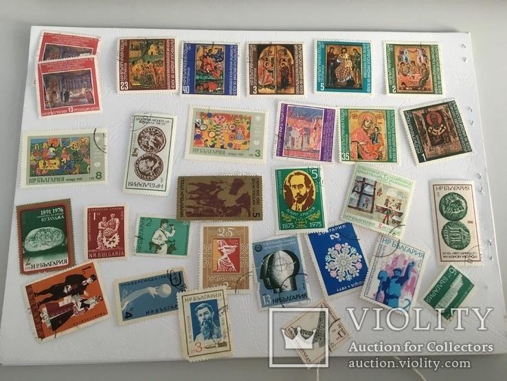 Почтовые марки Болгарии - 114 шт., фото №2