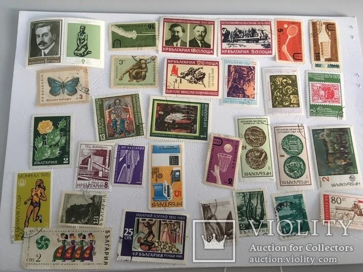 Почтовые марки Болгарии - 114 шт., фото №3