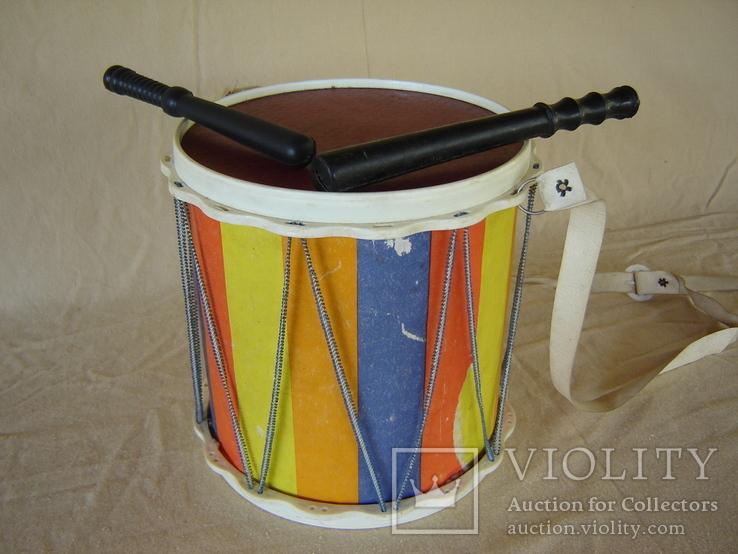 Игрушка детская барабан СССР, фото №3