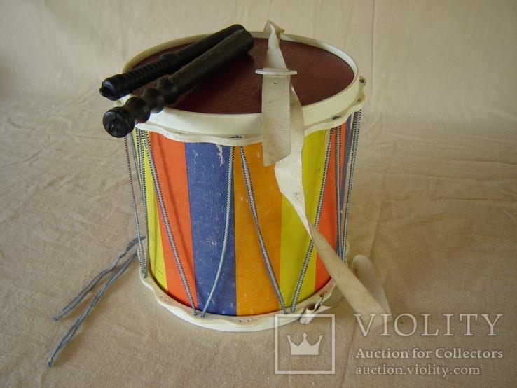 Игрушка детская барабан СССР, фото №10