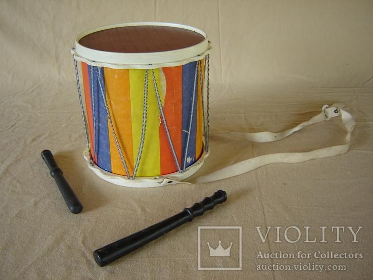Игрушка детская барабан СССР, фото №11