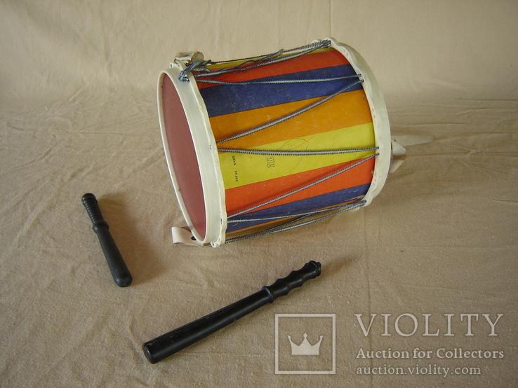 Игрушка детская барабан СССР, фото №13