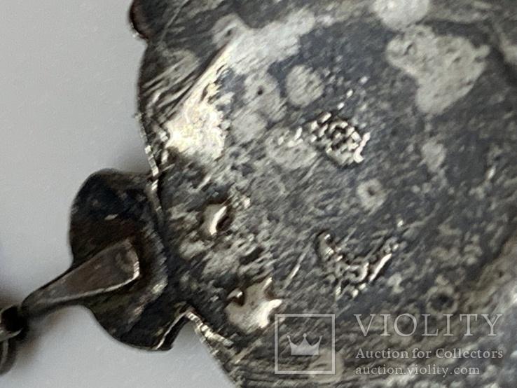 Серебряный знак Королевский военно-морской флот, фото №6