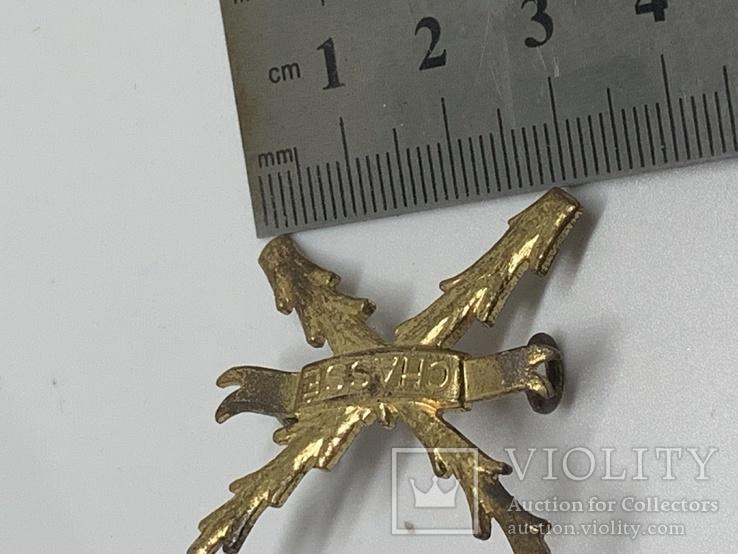 Плечевая эмблема полка Шасси 1950-1963 гг., фото №5