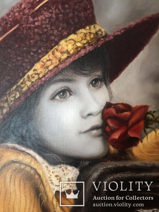 """Картина известного художника Седак Т.В. """"Мечтания"""" холст масло  40\3, фото №5"""