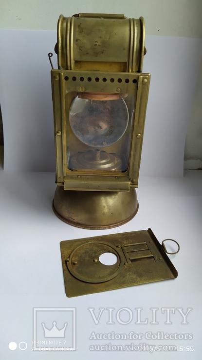 Блиндажный Карбидный фонарь Вермахта. 1936 год.