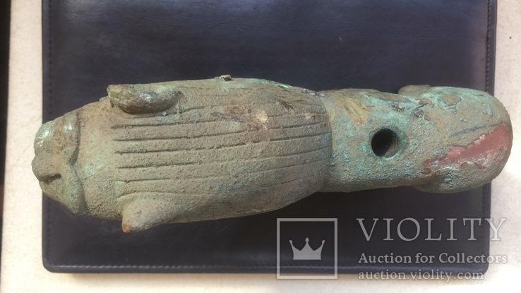 Бронзовый лев-скульптура 4.3 кг, фото №9