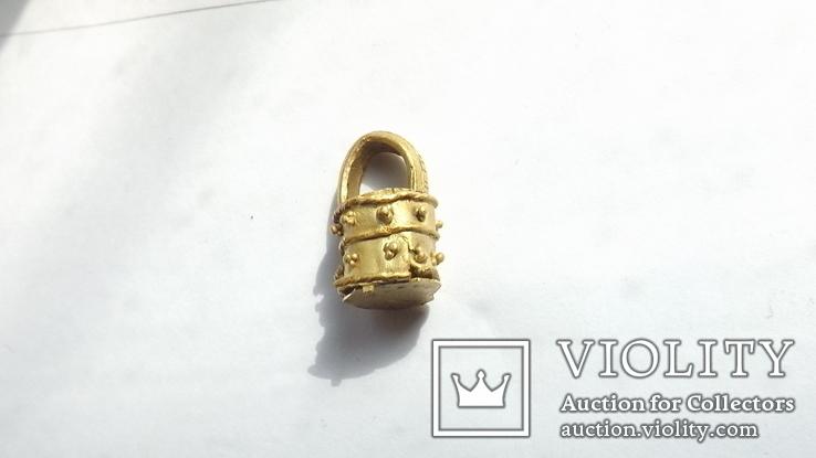 Золотая ароматница  2-4 век 3,1г, фото №4