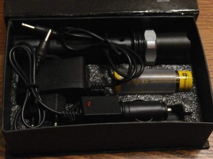 Аккумуляторный фонарь Poliсe T8626-Q5 SWAT, фото №3
