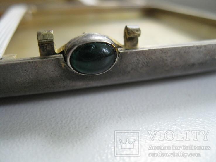 Портсигар  серебро, фото №10