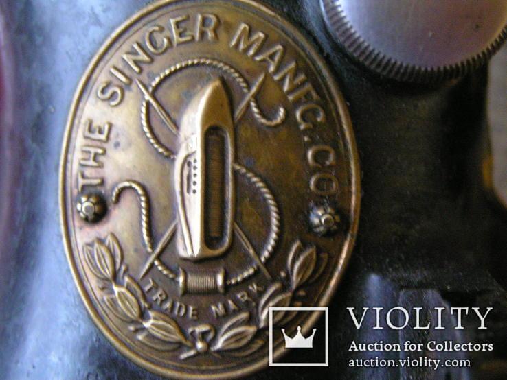Швейная машинка THE SINGER MANFG.CO -1886г., фото №3