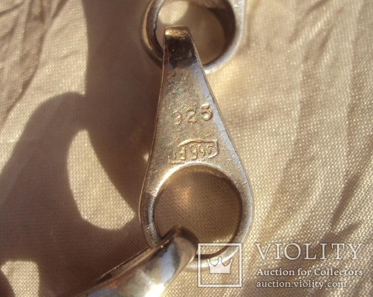 Фирменная цепь, Италия, 132 грамма., фото №5