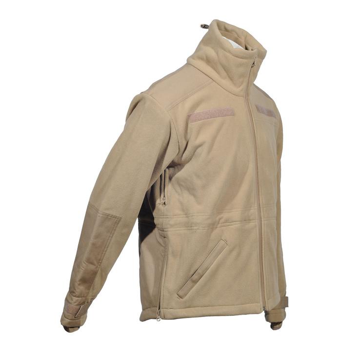 Милтек куртка флис ветрозащитная Койот
