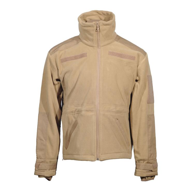 Милтек куртка флис ветрозащитная Койот, фото №3