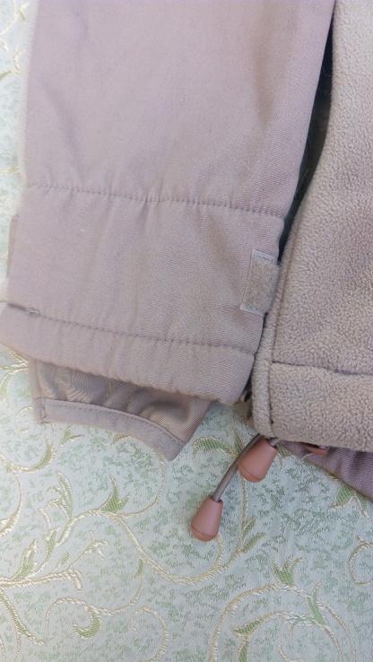 Милтек куртка флис ветрозащитная Койот, фото №9