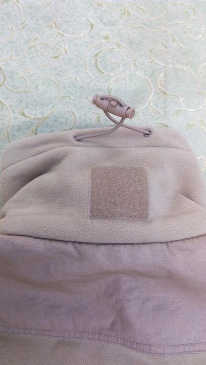 Милтек куртка флис ветрозащитная Койот, фото №11