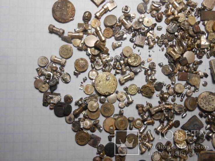 Серебро не магнит Вес - 187,88 грамм, фото №7