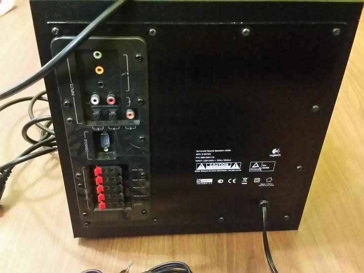 Акустическая система Logitech Z 906, фото №4