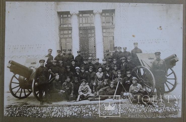 Отряд красноармейцев после провед. контр-революционного восстания в Баку., фото №3