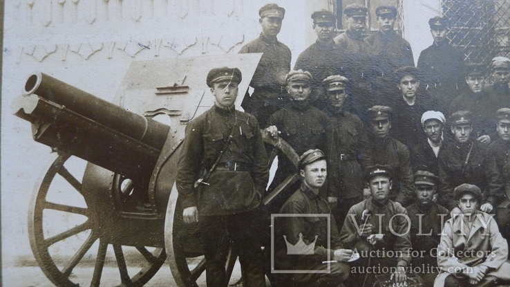 Отряд красноармейцев после провед. контр-революционного восстания в Баку., фото №4
