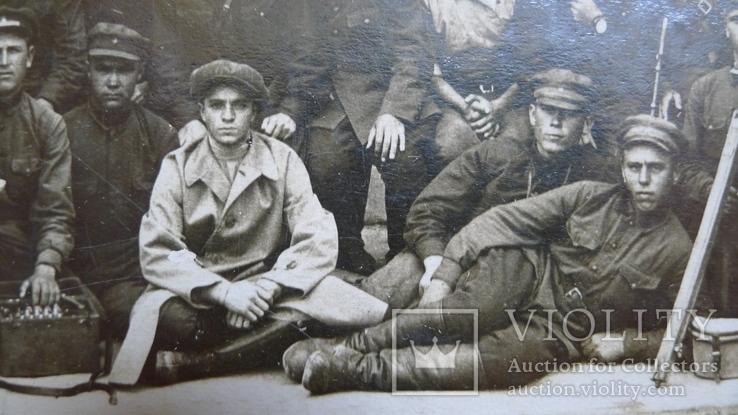Отряд красноармейцев после провед. контр-революционного восстания в Баку., фото №6