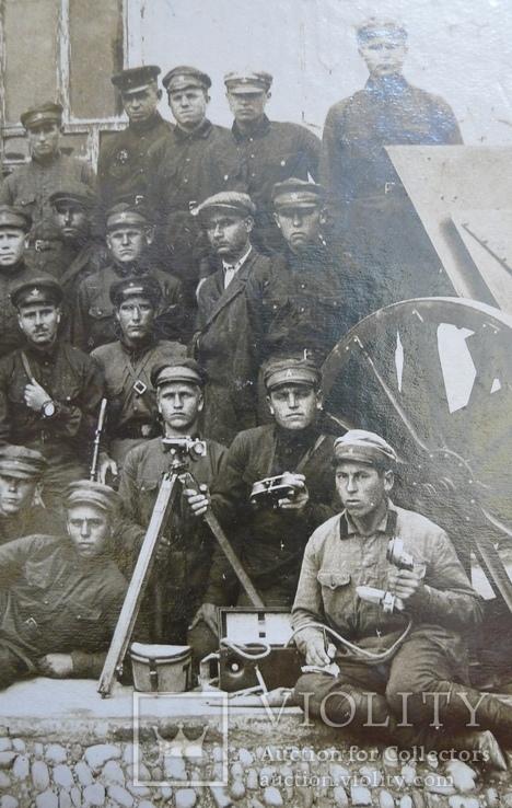 Отряд красноармейцев после провед. контр-революционного восстания в Баку., фото №7