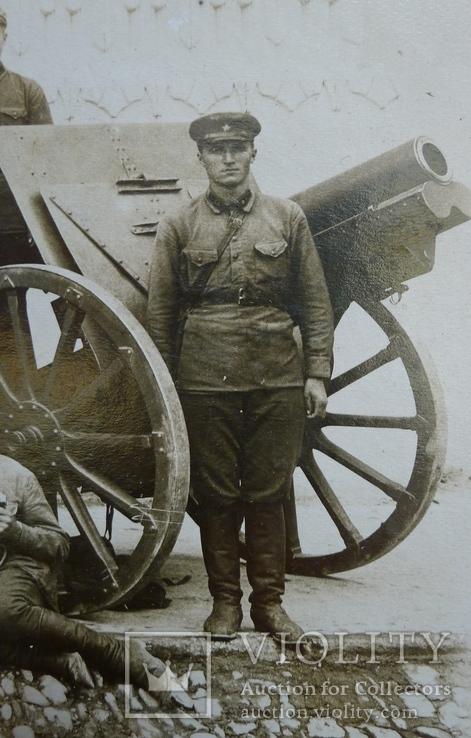 Отряд красноармейцев после провед. контр-революционного восстания в Баку., фото №9