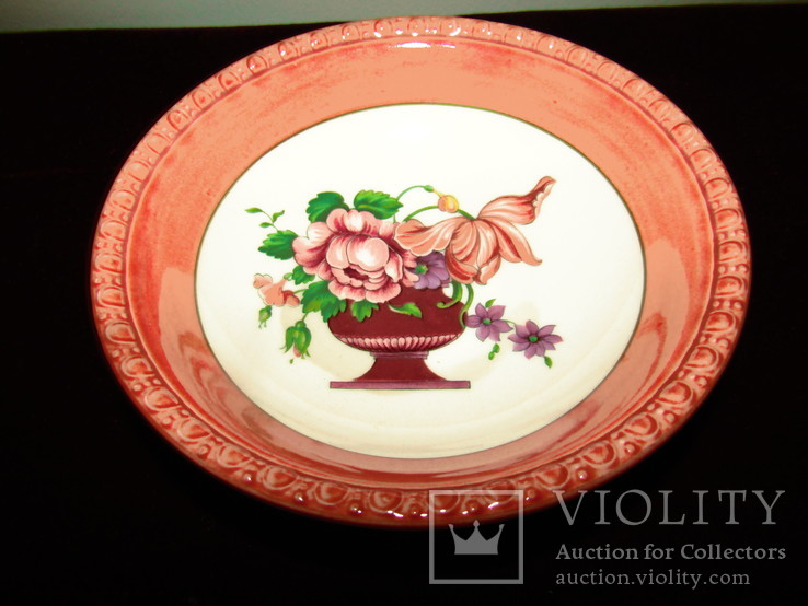 Салатник блюдо с коллекции Fiorello клеймо Villeroy & Boch Германия, фото №2
