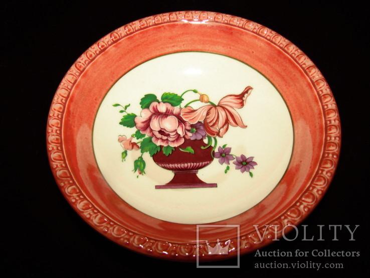 Салатник блюдо с коллекции Fiorello клеймо Villeroy & Boch Германия, фото №3