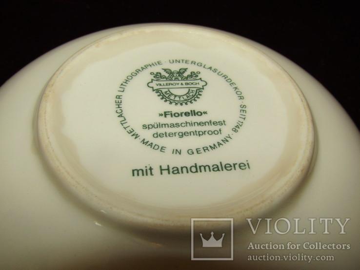 Салатник блюдо с коллекции Fiorello клеймо Villeroy & Boch Германия, фото №5