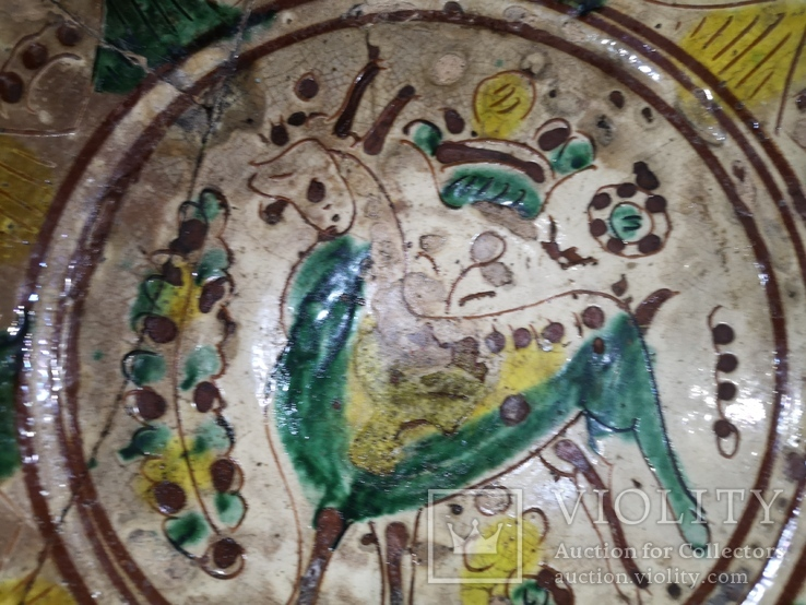 Сюжетна гуцульська миска, фото №5
